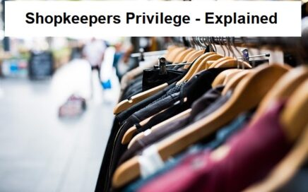 Shopkeepers privilege