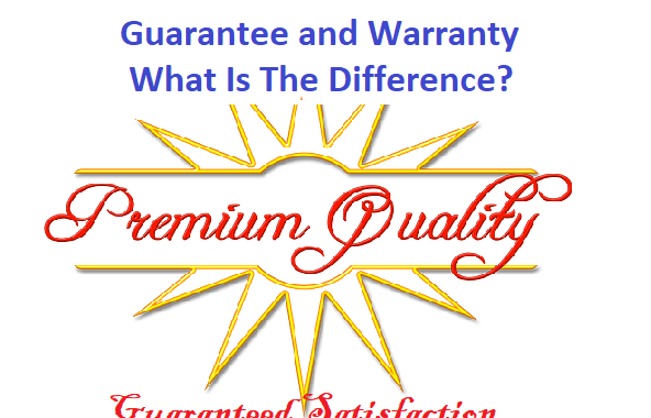 Warranties and guarantees