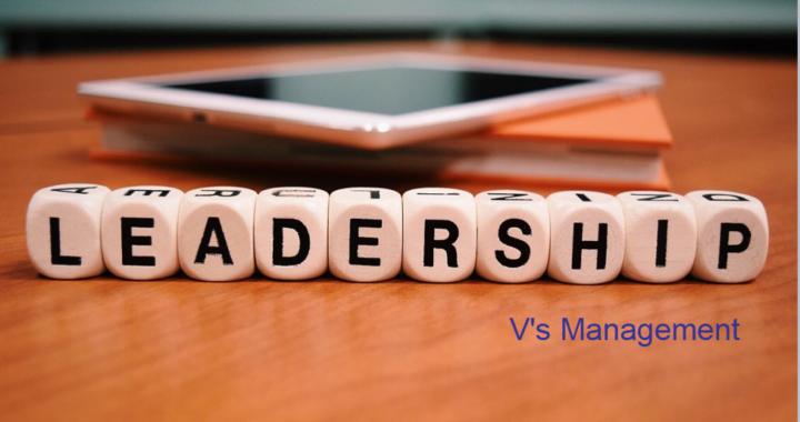 leadership v management